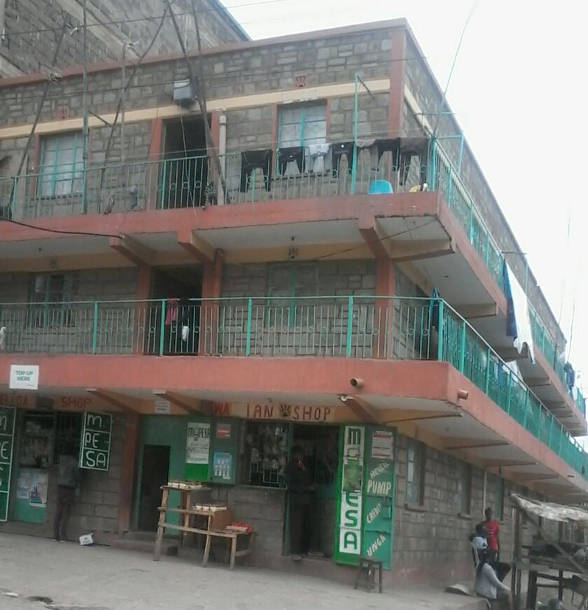 Prme 2 Storey Commercial Building On Sale at Kayole Estate